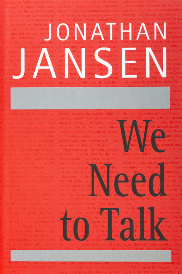 Book - We Need to Talk